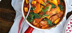 This delicious one-pot casserole is bursting with sweet, slow-cooked vegetables and low-Syn pork sausages.