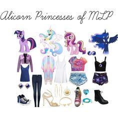 Alicorn Princesses of MLP
