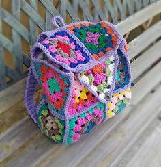 Mode Crochet, Bag Crochet, Crochet Granny, Crochet Crafts, Yarn Crafts, Crochet Clothes, Crochet Stitches, Crotchet, Knitting Projects