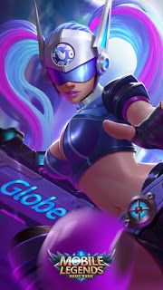 ML Wallpaper - Layla Blue Spectre Heroes Marksman of Skins Globe LAN Tournament Mobile Legend Wallpaper, Hero Wallpaper, List Of Heroes, Miya Mobile Legends, Play Hacks, Facebook Profile Picture, Best Mobile, Cool Websites, Female Characters