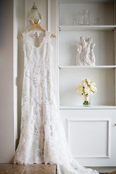 Read More: http://www.stylemepretty.com/2014/09/03/blushing-coastal-wedding-at-belle-mer/