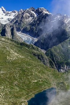 Glacier - Fiesch Switzerland