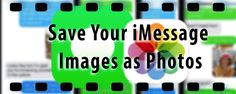 It's a common question for folks using iMessage: just how do you save your iMessage images as Photos to your iPhone or another iDevice? We receive photos and pictures from our friends and family via different apps. Most people prefer to store all these images in the photos app so that they can be easily …