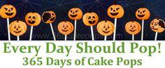 Cake Pop website-CUTE!