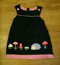 Jojo Maman Bebe toadstool hedgehog dress 18-24 months