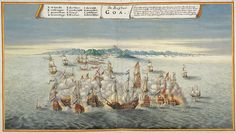The Dutch appeared in the Indian waters around Goa in the 17th century and their blockades of the Portuguese territory was responsible for Goas decline into poverty. Although the colony was never conquered by the Dutch, it became the last remaining city under Portuguese control on the west coast of India.