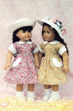 American Girl dress pattern - vintage 1950's look