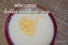 Pass the Fresh: Wisconsin Cheddar Cauliflower Soup