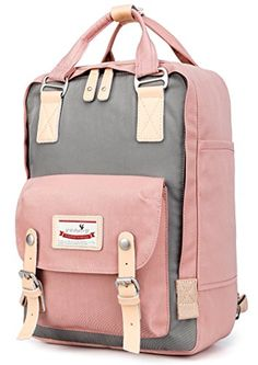 4f3f878952 Chic Goldwheat Women๏ฟฝs Waterproof Backpack School Bags Vintage Travel Daypack  Rucksack 13inch