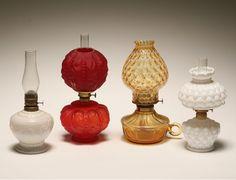 Miniture oil lamps