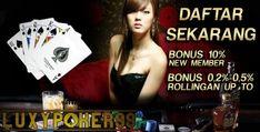 Di agen judi poker online terpercaya deposit 10 rb, anda dapat menikmati bermain poker online yang saat ini sedang sangat populer untuk dimainkan.
