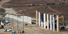 Trump's Towering Border-Wall Prototypes Unveiled  - WSJ