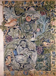 Acanthus & Vine, by William Morris (V&A Custom Print). #morris #design