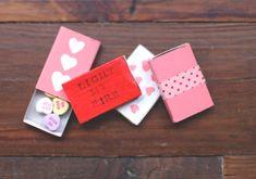 diy alternative valentines
