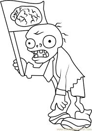 image result for plants vs zombies coloring pages