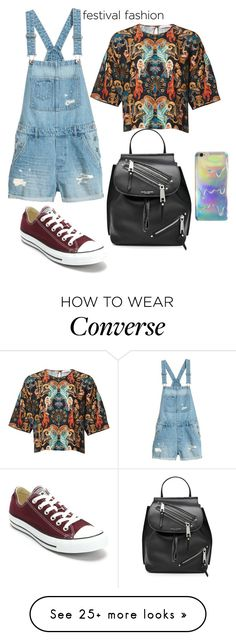 """Untitled #28"" by anabuzea1107 on Polyvore featuring Converse and Marc Jacobs"