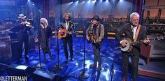 Emmylou Harris performing on 'Letterman' (Nonesuch Records)