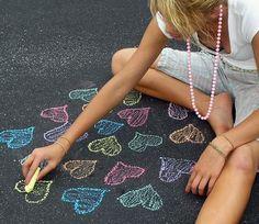 sidewalk chalk!!!