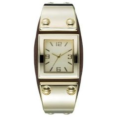Art Deco watch with a modern twist for the next date night accessory.
