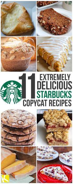 11 Copycat Pastry Recipes from Starbucks