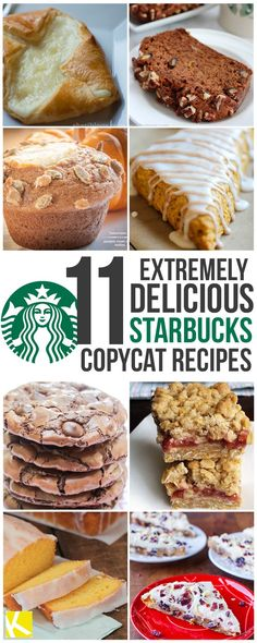 11 Copycat Pastry Recipes from Starbucks