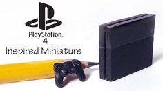 Hey guys! After making the Nintendo wii I got a lot of requests for making a playstation as well, so today's polymer clay tutorial is for the PS4 :) I brough...