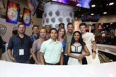 The cast of #TheFlash #CWSDCC #2016