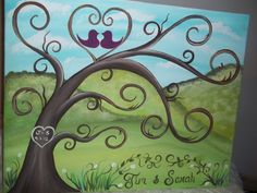 Items similar to Wedding thumbprint guest book canvas.Mountain guests on Etsy Love Canvas Painting, Diy Painting, Canvas Art, Family Painting, Canvas Ideas, Thumbprint Guest Books, Thumbprint Tree, Paint And Sip, Wedding Guest Book Alternatives