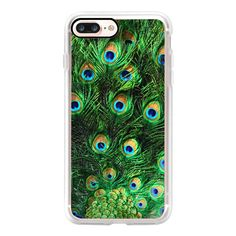 Peacock  - iPhone 7 Case, iPhone 7 Plus Case, iPhone 7 Cover, iPhone 7... (315 SEK) ❤ liked on Polyvore featuring accessories, tech accessories, iphone case, iphone cases, apple iphone case and iphone cover case