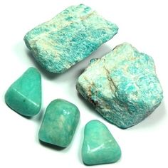 """Amazonite is a """"Stone of Success and Abundance"""", attracting focus and good luck."""