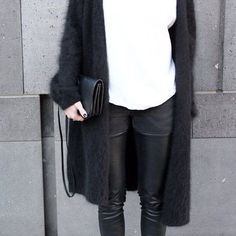 Bild über We Heart It https://weheartit.com/entry/172551919 #black #cardigan #design #fashion #outfit #styles #top