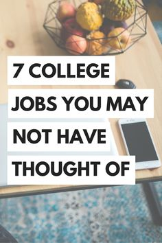Is your wallet looking a little bare? Check out these college jobs that you probably haven't thought of! Great ways to save money as a student