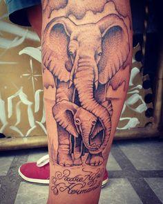 Tatto elefantes