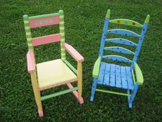 Ideas for refinishing my classroom rocking chair