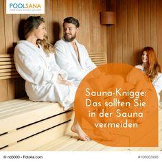 Sauna-Knigge: Das sollten Sie in der Sauna vermeiden #sauna #knigge #benehmen #verhalten #ratgeber #tipps