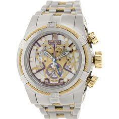 Invicta Men's Jason Taylor 14427 Grey Stainless-Steel Swiss Quartz Watch