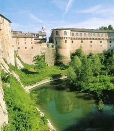 The Ducal Palace of Urbania, Italy, summer residence of the ancient Dukes of Urbino