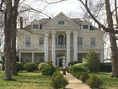 My dream house in Springfield, TN. I just wanna pick it up and move it somewhere else!