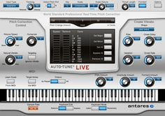 Pitch-correction Software Optimized for Realtime Live Vocal and Monophonic Instrument Applications - Mac/PC AAX Native, RTAS, VST3, AU