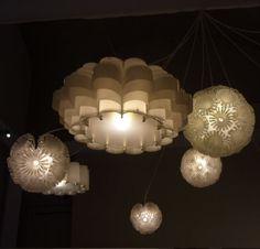 plastic bottle lamps