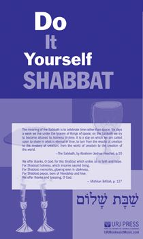Do It Yourself Shabbat