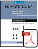 Number Talks: Reproducible Dot Images and Five- and Ten-Frames - Digital Math Talk Moves, Place Value Activities, Number Talks, Maths Solutions, Numbers For Kids, Math Books, Primary Maths, Number Sense, Teaching Math