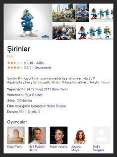 sirinler - The Smurf 1-2 full Movie