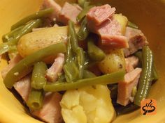 Ham and Green Beans in the Slow Cooker recipe