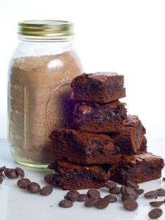 Mix per brownies in barattolo
