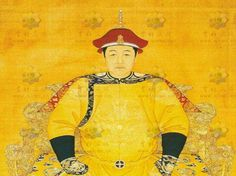 Chinese Emperors wore yellow.