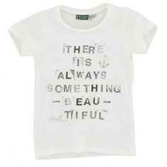 Tumble n Dry - T-shirt Tekst wit
