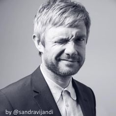 "112 Likes, 13 Comments - Sandra Vijandi (@sandravijandi) on Instagram: ""Unpublished photo of Martin Freeman being cool and cute during the shoot . Dedicated to his fans.…"""