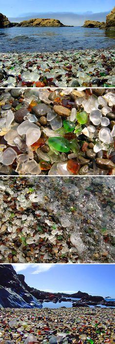 Glass Beach, Fort Bragg, California, an amazing place, especially if you collect beach glass!