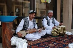 The Afghan folk musicians in their traditional costumes - Jeff Rozwadowski's Image